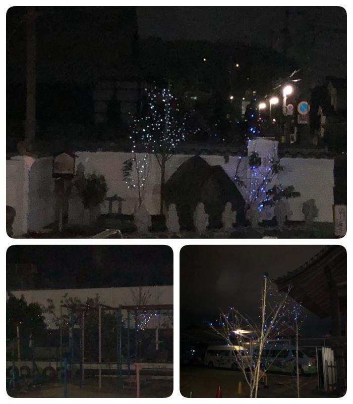 天徳寺のクリスマスツリー